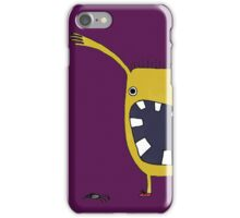 Halloween Spider Thrower iPhone Case/Skin