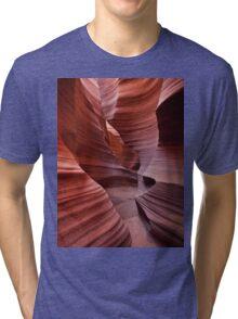 Rattlesnake Canyon curves Tri-blend T-Shirt