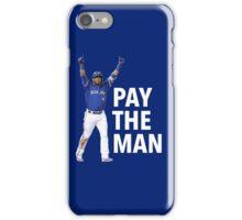 EDWIN | PAY THE MAN iPhone Case/Skin