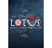 the red lotus Photographic Print