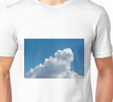 Sample cumulus clouds as a background Unisex T-Shirt