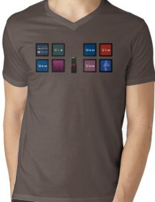 2001 A Space Odyssey HAL 9000 Mens V-Neck T-Shirt