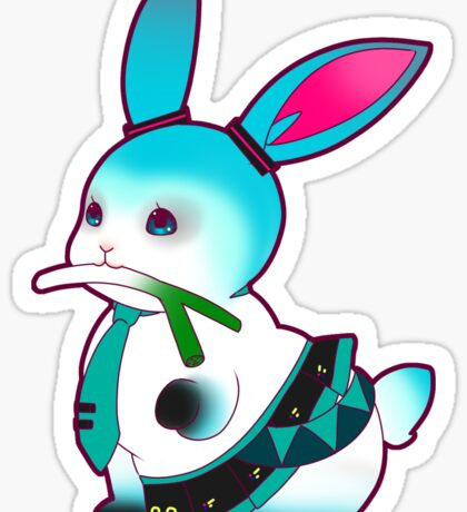 Character Bun: MIKU HATSUNE BUN Sticker