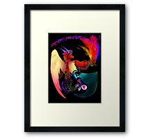 Explore You'r Imagination Framed Print