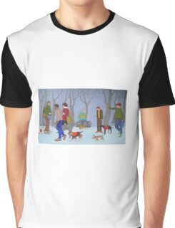 Community Gathering for the Pets Graphic T-Shirt