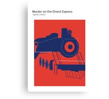 Murder On The Orient Express Canvas Print