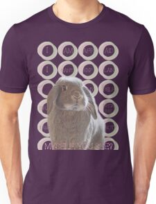 I'm afraid I can't explain myself, sir. Because I am not myself, you see?― Lewis Carroll, Alice in Wonderland  Unisex T-Shirt