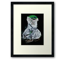 Courageous Caver Framed Print