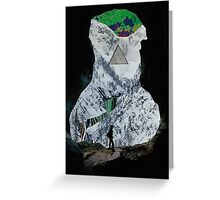 Courageous Caver Greeting Card