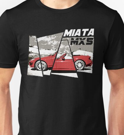 NEW Men's Sports Car T-Shirt Unisex T-Shirt