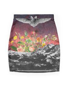 THE BAT Mini Skirt