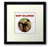 Buffy Halloween Framed Print