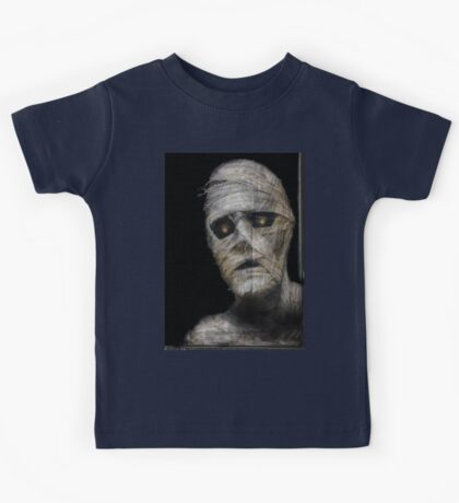 Mummy In The Window! Kids Tee