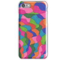 Waves of Color iPhone Case/Skin