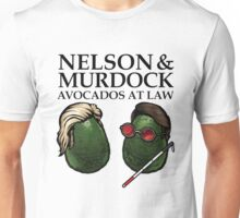 'Nelson and Murdock Avocados at Law' Unisex T-Shirt