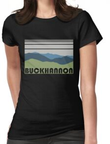 Buckhannon - Retro Womens Fitted T-Shirt