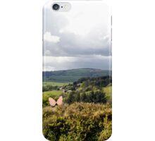 varied Species of Butterflies in an Irish Meadow iPhone Case/Skin