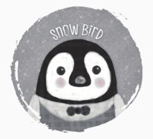 Snow Bird One Piece - Short Sleeve