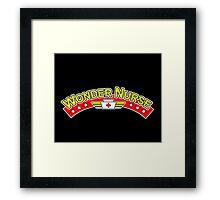 Wonder Nurse Framed Print