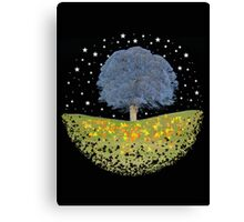 Starry Night Sky Canvas Print