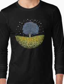 Starry Night Sky Long Sleeve T-Shirt