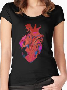 Warped heart Women's Fitted Scoop T-Shirt