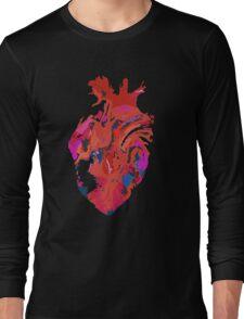 Warped heart Long Sleeve T-Shirt
