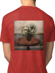 Blossoms and Stars Tri-blend T-Shirt