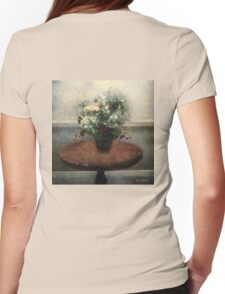 Blossoms and Stars Womens Fitted T-Shirt