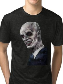Gentlemen illustration Tri-blend T-Shirt