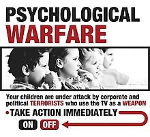 Psychological Warfare on your kids Photographic Print
