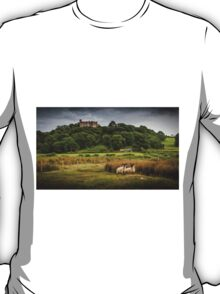 Sheep at Weobley castle T-Shirt