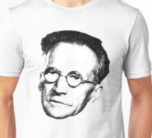 Erwin Schrödinger Floating Head (contrast 1) Unisex T-Shirt
