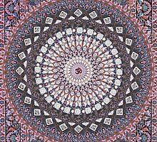 Om Mandala Lavender by Daniel Watts