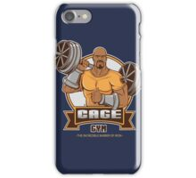 CAGE GYM iPhone Case/Skin