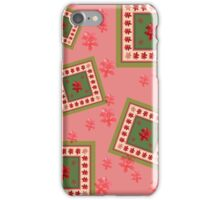 Red hybiscus flowers iPhone Case/Skin