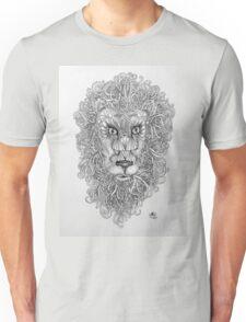 Doodled Lion Unisex T-Shirt