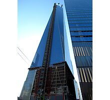Almost done, New World Trade Center - NYC Photographic Print