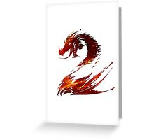 Guild Wars 2 Design Greeting Card