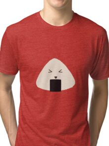 Origini cute rice face Tri-blend T-Shirt