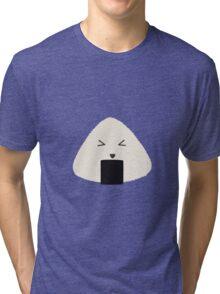Origini cute rice face Tri-blend T-Shirt