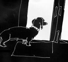 Watchful Boris by Matt Mawson