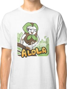 Greetings from Alola ft. Dartrix - Pokémon Sun and Moon Classic T-Shirt