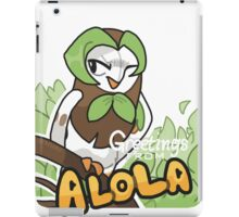Greetings from Alola ft. Dartrix - Pokémon Sun and Moon iPad Case/Skin