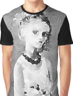 The dark side of the soul watercolor painting  Graphic T-Shirt