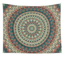 Mandala 144 Wall Tapestry