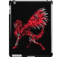 Flame Wolf - Black iPad Case/Skin