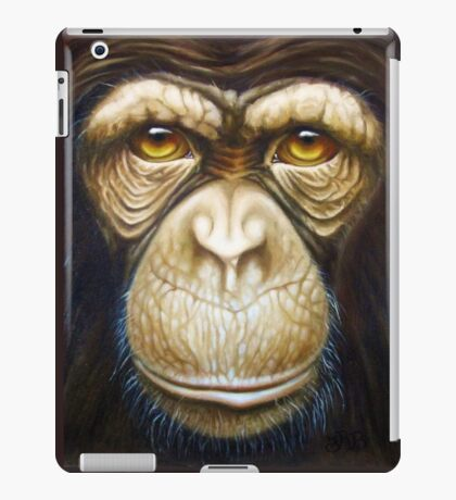 primate-chimpanzee iPad Case/Skin