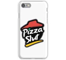 Pizza slut logo iPhone Case/Skin