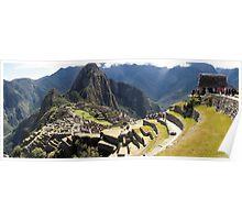 Machu Picchu - Peru - August 2014 Poster